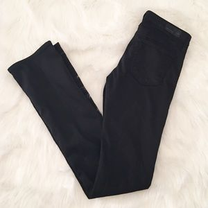 AG slim boot the ballad black jeans 26 regular